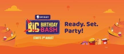 Swiggy Big Birthday Bash