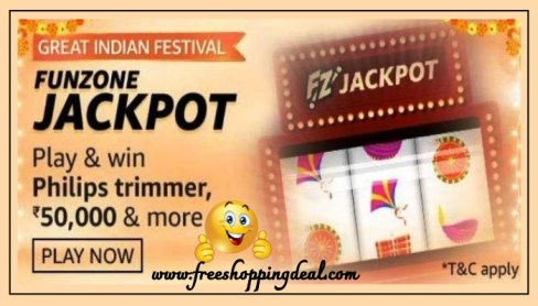 Great Indian Festival Jackpot Quiz Answers