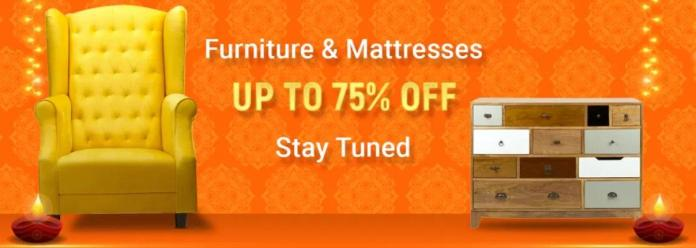 Flipkart Big Diwali Sale Furnitures & Mattresses Offers