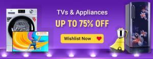 Flipkart The Big Billion Days Sale for Televisions