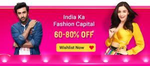 Flipkart The Big Billion Days Sale for Fashion