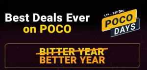 Flipkart POCO Days Sale
