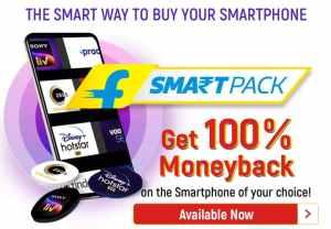 Flipkart Smartpack Money Back Offer