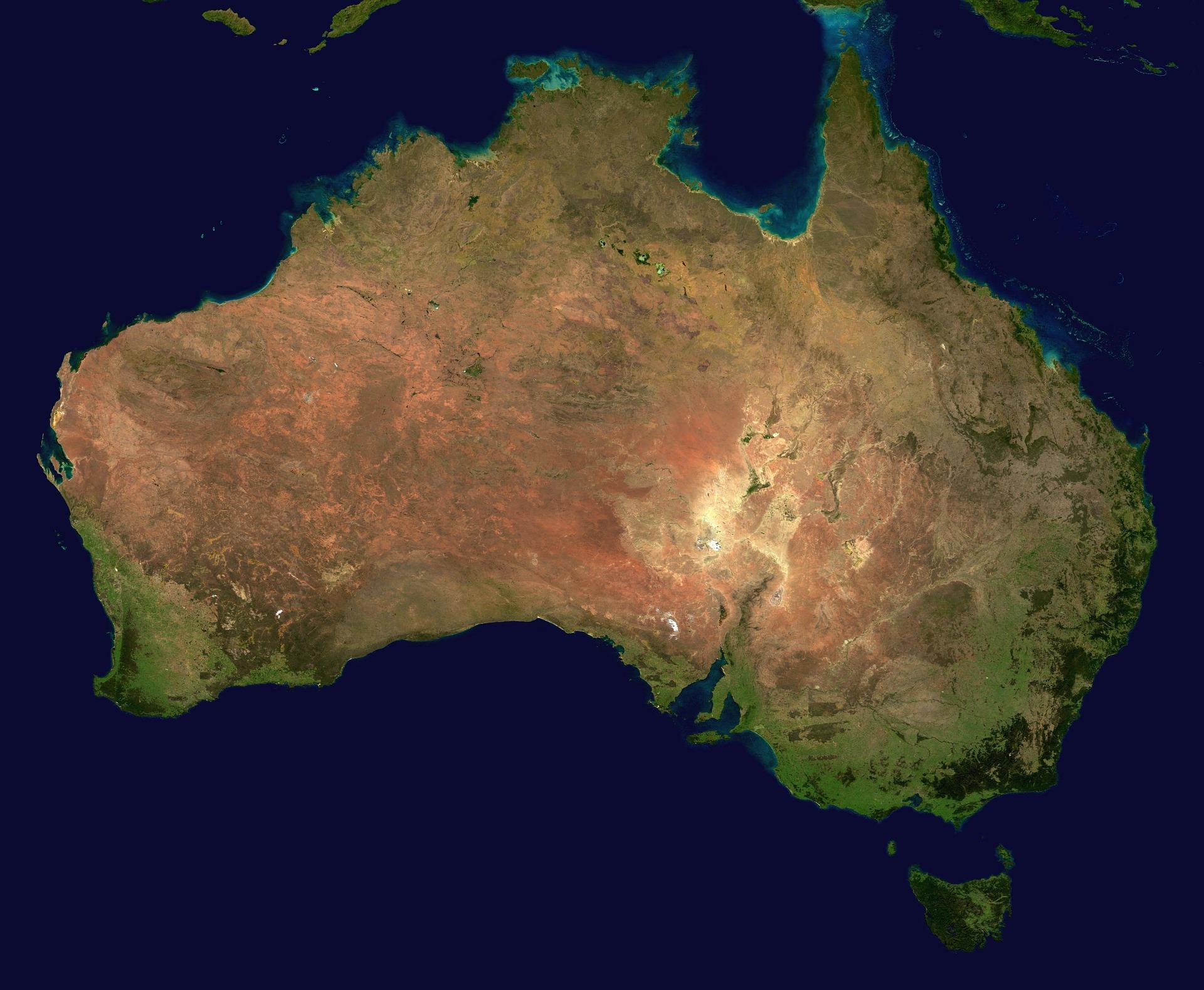 mochileiro na Oceania