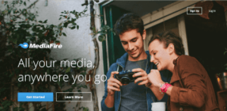mediafire free sites like dropbox