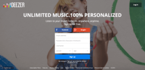 Deezer Free Sites Like Songza