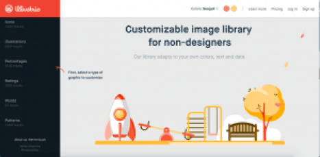 illustrio sites like canva