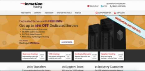 inmotion hosting like godaddy