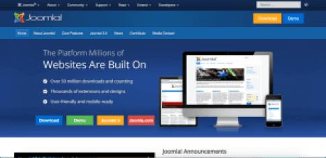 free sites like joomla