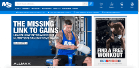muscle and strength men's magazine