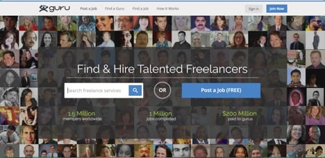 Sites like Freelancer Guru
