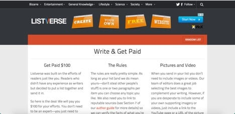 listverse sites like iwriter