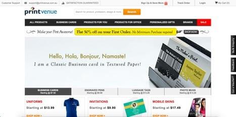 printvenue sites like vistaprint