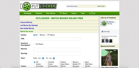 putlocker sites like couchtuner