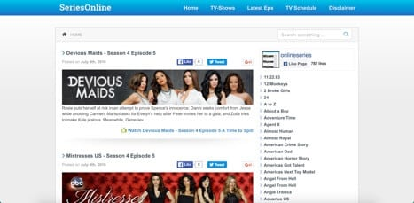 Series Online watch TV shows