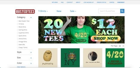 Sites like bustedtees