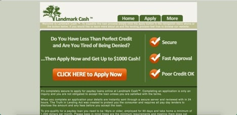 sites like landmark cash