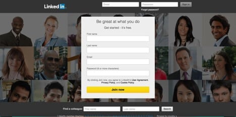 Sites like Linkedin