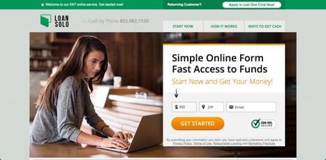 Payday loans like LoanSolo