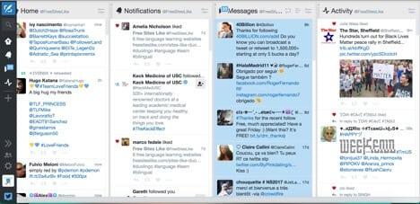 Sites like Tweetdeck