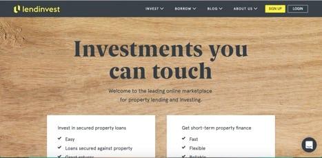 Sites like lendinvest