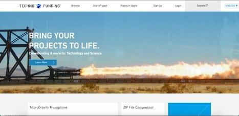 Sites like TechnoFunding