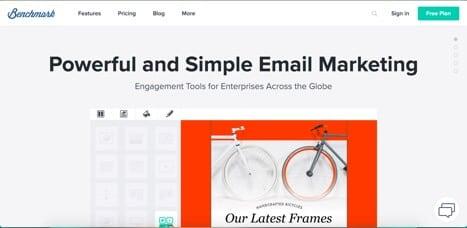 Email Marketing Sites Benchmark