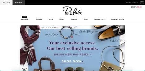 Sites like ruelala