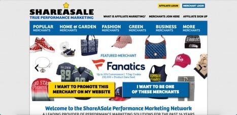 Sites like Shareasale