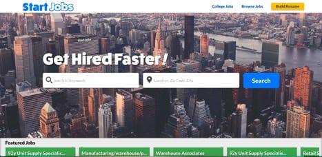 Sites like Start Jobs