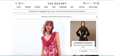 Sites like the outnet