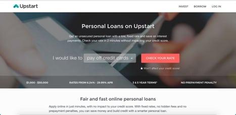Sites like upstart