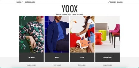 Sites like Yoox