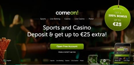 Sites like ComeOn Poker