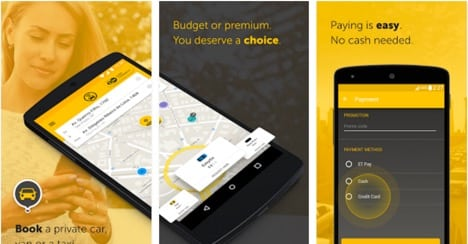 apps like easy taxi