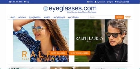 eyeglasses online store