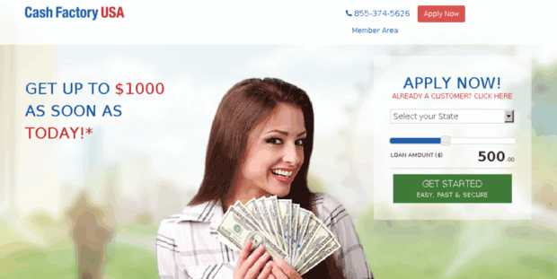 7 Instant Loans Like Cash Factory