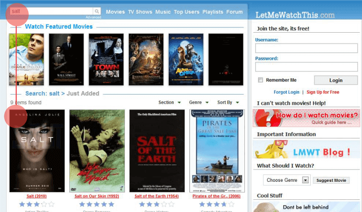 6 Movie Streaming Sites Like LetMeWatchThis