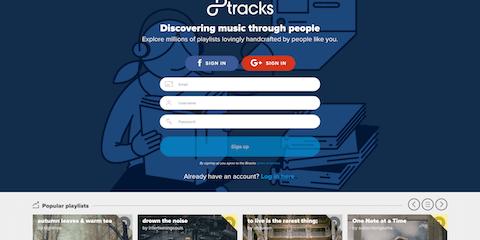 sites like 8Tracks