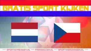 Live Nederland - Tsjechië