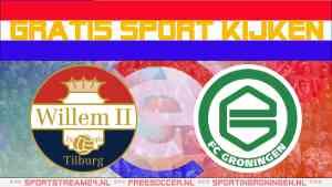 Live Willem II - FC Groningen