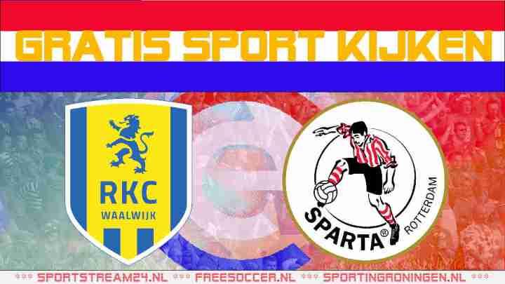 Live RKC Waalwijk vs Sparta