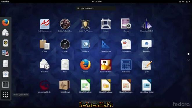 Fedora Linux 25 Free Download for pc
