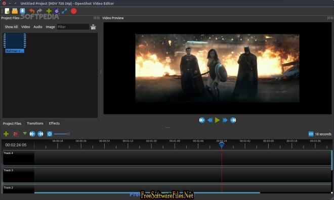 OpenShot Video Editor 2.3.1 Beta Free download for pc