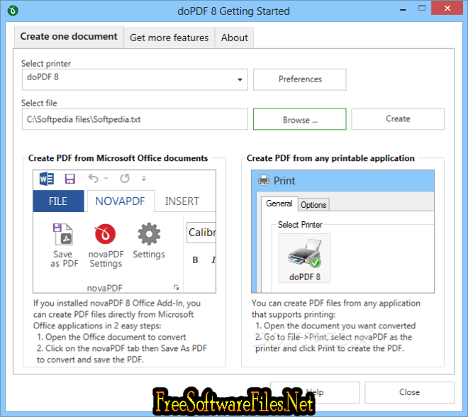 doPDF Free Download direct link for PC
