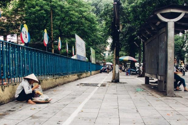 Street Peddler in French Quarter