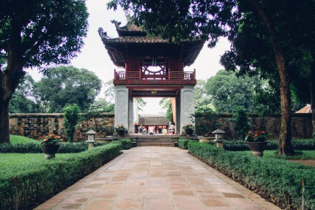 First Courtyard - Temple of Literature