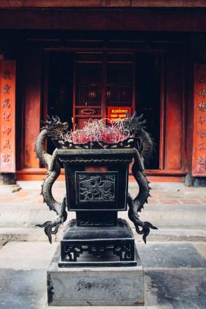 Incense Burner at the Temple