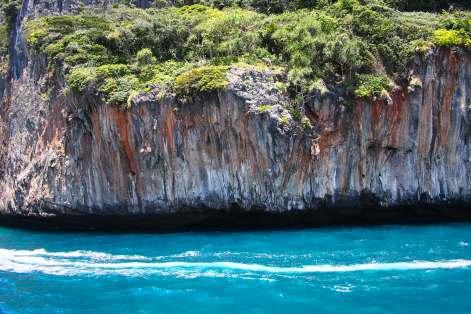 Corrosion of Limestone Island