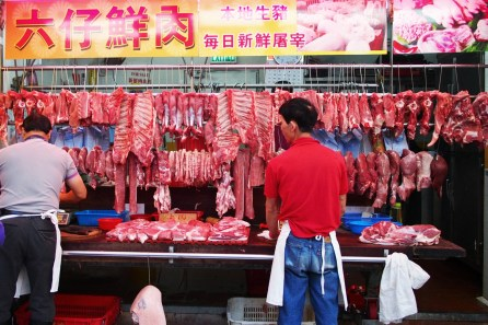 Meat Stall Wet Market
